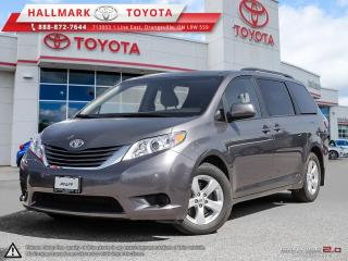 Used 2017 Toyota Sienna LE 8-Passenger V6 for sale in Mono, ON