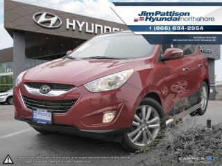 Used 2013 Hyundai Tucson Limited w/Nav for sale in North Vancouver, BC