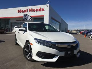 Used 2017 Honda Civic COUPE Touring, Navigation, sunroof, alloy wheels for sale in Mississauga, ON