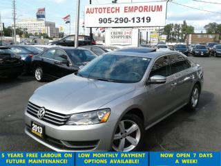 Used 2013 Volkswagen Passat Comfortline Leather/Sunroof/Alloys &GPS* for sale in Mississauga, ON