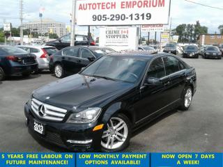 Used 2013 Mercedes-Benz C-Class 300 4MATIC Navigation/Cam/Loaded for sale in Mississauga, ON