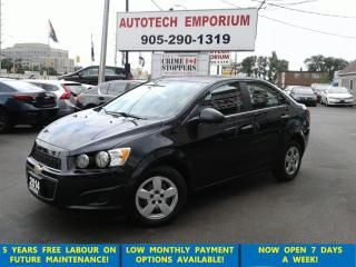 Used 2014 Chevrolet Sonic LT Auto HtdSts/Btooth/Camera &GPS*$35/wkly for sale in Mississauga, ON