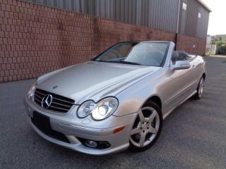 Used 2005 Mercedes-Benz CLK ***SOLD*** for sale in Etobicoke, ON