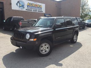 Used 2014 Jeep Patriot NORTH - 4X4 - BLUETHOOTH - FOG LIGHTS for sale in Aurora, ON