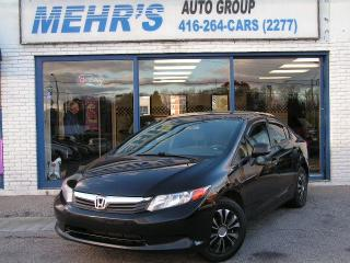 Used 2012 Honda Civic DX Clean Title No Accident for sale in Scarborough, ON