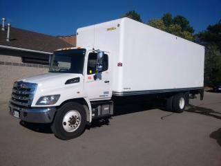 Used 2016 Hino 338 26' with lift and ramp for sale in Kitchener, ON