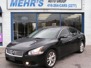 Used 2013 Nissan Maxima 3.5 SV NO ACCIDENT ALL ORIG. for sale in Scarborough, ON