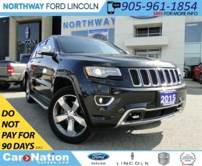 Used 2014 Jeep Grand Cherokee Overland | DIESEL | DIESEL | NAV | PANO ROOF | for sale in Brantford, ON