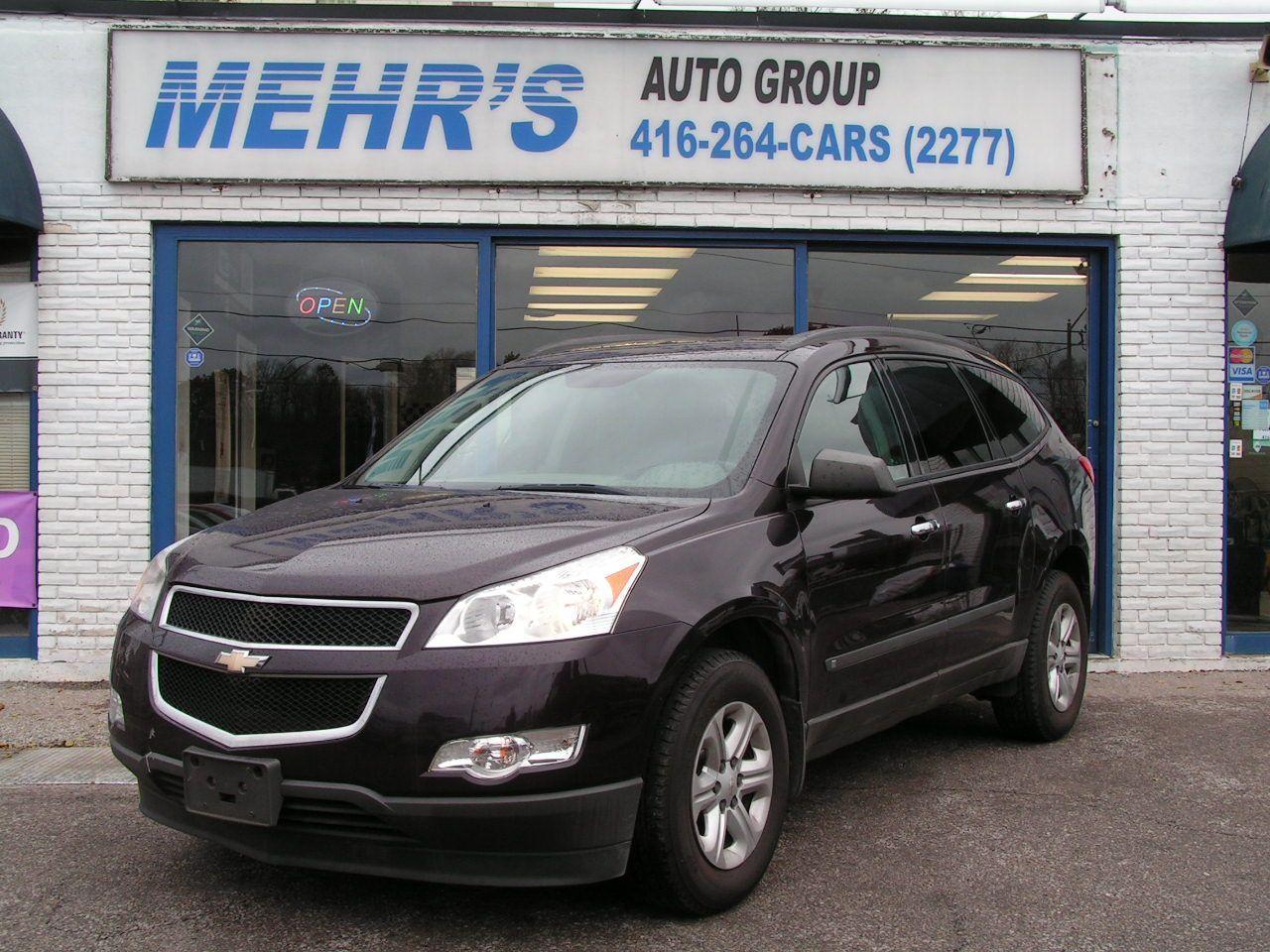 2010 Chevrolet Traverse 1LS 8 Passenger New Tires & Brake