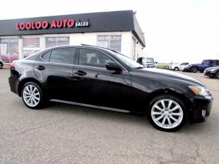 Used 2006 Lexus IS 250 Premium AWD Sunroof leather Certified 2YR Warranty for sale in Milton, ON