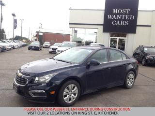 Used 2016 Chevrolet Cruze LT | CAMERA | 1.4L TURBO | NO ACCIDENTS for sale in Kitchener, ON