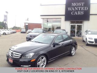 Used 2013 Mercedes-Benz C350 4matic 18 INCH AMG RIMS | NO ACCIDENTS for sale in Kitchener, ON