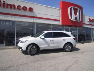 Used 2014 Acura MDX Tech pkg for sale in Simcoe, ON