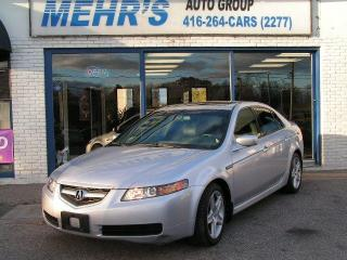 Used 2004 Acura TL Leather Sunroof No Accident for sale in Scarborough, ON