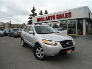 Used 2007 Hyundai Santa Fe GL 5PassFWD 4dr 2.7L Auto GL SUV  PW PL PM ALLOY S for sale in Oakville, ON