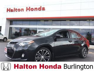 Used 2016 Toyota Corolla LIMITED|LEATHER|SUNROOF for sale in Burlington, ON