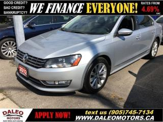 Used 2012 Volkswagen Passat 2.5L Highline (A6) With NAV | SUNROOF | LEATHER for sale in Hamilton, ON