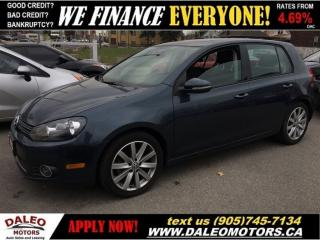 Used 2012 Volkswagen Golf 2.5L Highline (A6) | SUNROOF | LEATHER for sale in Hamilton, ON