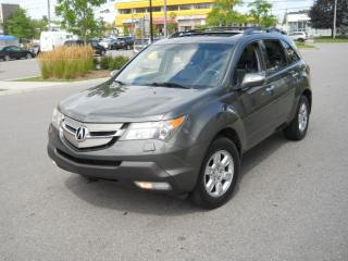 Used 2007 Acura MDX Ellit PkG, Navi, DVD, AWD, 7 Passenger, certify, 3 for sale in North York, ON