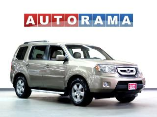 Used 2011 Honda Pilot EX-L BACKUP CAM LEATHER SUNROOF 8 PASS 4WD for sale in North York, ON