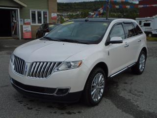 Used 2013 Lincoln MKX LUXURY PACKAGE for sale in Corner Brook, NL