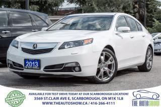 Used 2013 Acura TL ELITE AWD Navi BlindSpot RearviewCam for sale in Caledon, ON