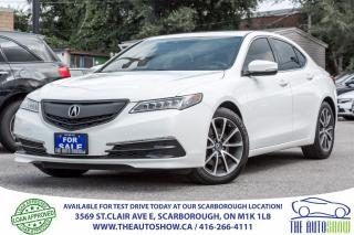 Used 2015 Acura TLX V6 Tech Navi RearviewCam for sale in Caledon, ON
