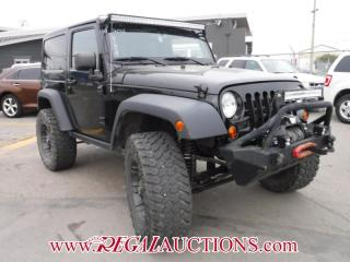 Used 2013 Jeep WRANGLER RUBICON 2D UTILITY 4WD for sale in Calgary, AB