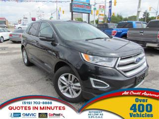 Used 2015 Ford Edge SEL | NAV | BACKUP CAM | SUNROOF | LEATHER | BT for sale in London, ON