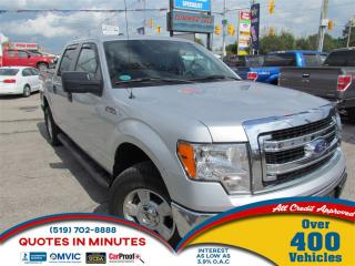 Used 2014 Ford F-150 XLT   4X4   SAT RADIO   SUPERCREW   BLUETOOTH for sale in London, ON