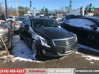 Used 2013 Cadillac ATS 3.6L Luxury   NAV   LEATHER   ROOF   AWD for sale in London, ON
