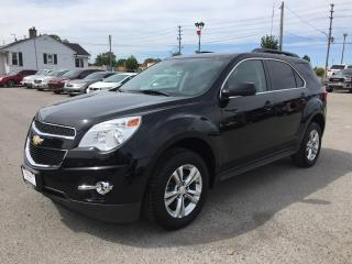 Used 2013 Chevrolet EQUINOX LT * LEATHER * BACKUP CAMERA * USB * BLUETOOTH * SAT RADIO SYSTEM for sale in London, ON