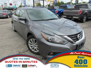Used 2016 Nissan Altima BACKUP CAM | SAT RADIO | BLUETOOTH for sale in London, ON