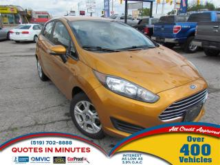 Used 2016 Ford Fiesta SE | SAT RADIO | BLUETOOTH | for sale in London, ON