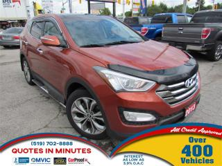 Used 2013 Hyundai Santa Fe Sport LIMITED | AWD | TURBO | LEATHER | BACKUP CAM | BT for sale in London, ON
