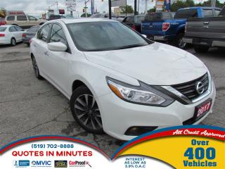 Used 2017 Nissan Altima SV | SUNROOF | BACKUP CAM | SAT RADIO | BLUETOOTH for sale in London, ON
