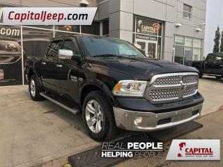 Used 2014 Dodge Ram 1500 Laramie| Leather| 4X4| Sunroof| AUX| Remote Starte for sale in Edmonton, AB