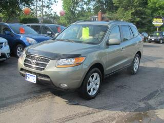 Used 2009 Hyundai Santa Fe Limited AWD for sale in Brockville, ON