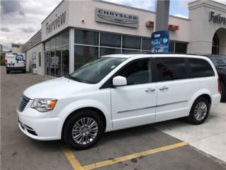 Used 2016 Chrysler Town & Country Leather/Sunroof/Navi/Dual DVD for sale in Burlington, ON