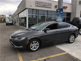 Used 2016 Chrysler 200 Limited for sale in Burlington, ON