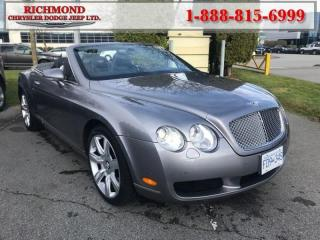 Used 2007 Bentley Continental GT - Low Mileage for sale in Richmond, BC