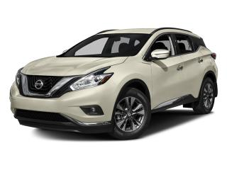 New 2017 Nissan Murano S FWD CVT (2) for sale in Mississauga, ON