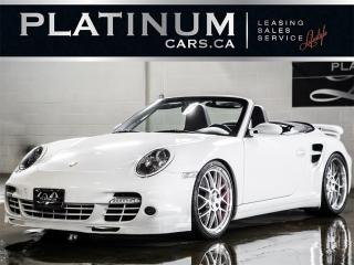 Used 2008 Porsche 911 TURBO CABRIOLET, SPO for sale in North York, ON
