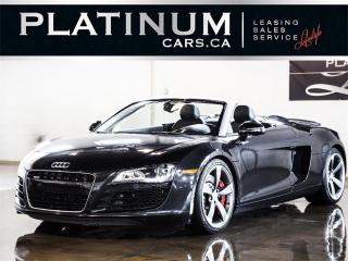 Used 2012 Audi R8 4.2 QUATTRO SPYDER, for sale in North York, ON