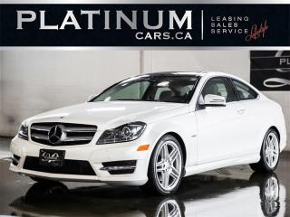 Used 2012 Mercedes-Benz C-Class C350 COUPE 4MATIC, N for sale in North York, ON