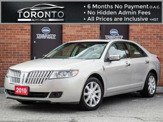 Used 2010 Lincoln MKZ Leather+Sunroof+Heated Seats+Premium pkg for sale in North York, ON