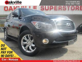 Used 2013 Infiniti QX56 LEATHER | SUNROOF | 7 PASS | NAVI | DVD for sale in Oakville, ON
