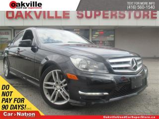 Used 2013 Mercedes-Benz C-Class 300 4MATIC | LEATHER | SUNROOF | BLUETOOTH | for sale in Oakville, ON