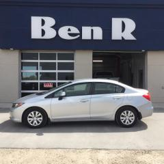 Used 2012 Honda Civic LX for sale in Steinbach, MB
