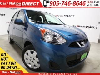 Used 2016 Nissan Micra SV| ONE PRICE INTEGRITY| OPEN SUNDAYS| for sale in Burlington, ON